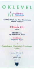 Családbarát Munkahely Tatabánya 2011-2012.